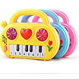 Cartoon Elektronische Orgel Musikinstrument Spielzeug, mamum Baby elektronische Orgel Musikinstrument Geburtstagsgeschenk Kid Wisdom deveop
