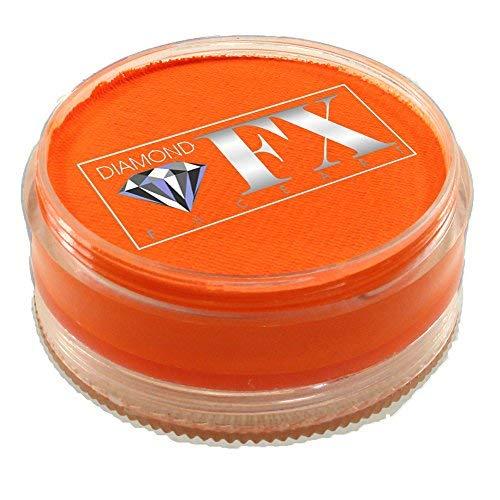 Diamond FX neon Gesichtsfarbe - orange (90 gm) -