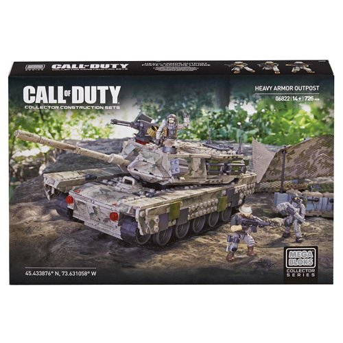 Mega Bloks 06822U - Call of Duty Heavy Armor Outpost