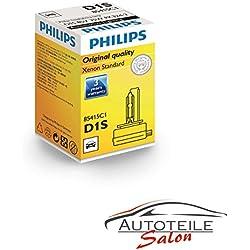 Philips D1S Xenon 85415 XenStart Brûleur Xenon Standard Projecteur Phares Lampe de Voiture 1Pièce 35w feu de croisement