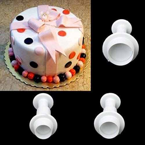 Tery 3/Sets von Rund Kuchen Plunger Cutter Cookie Set Tool