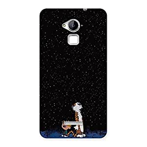 Cute Counting Stars Multicolor Back Case Cover for Coolpad Note 3