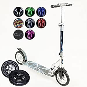 hepros XXXL Ultra Air Scooter 205mm City Roller Special Edition, Rot