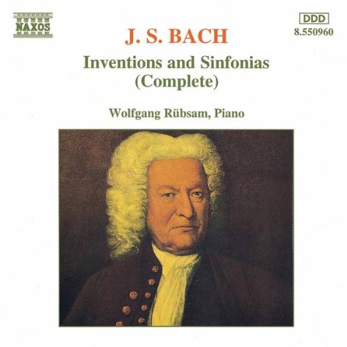 3-Part Inventions (Sinfonias) Nos. 1-15, BWV 787-801: Sinfonia No. 9 in F minor, BWV 795