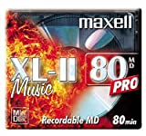 from Maxell Maxell 80 Mins Minidisc (5 Pack) Model MD80XL11