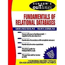 Schaum's Outline of Fundamentals of Relational Databases (Schaum's Outline Series)
