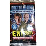 DOCTOR (DR) WHO MONSTER INVASION EXTREME TRADING CARD GAME ~ 10 PACKS ~ SET 2 ~ NEW VERSION