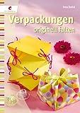 Geschenkidee Verpacken - Verpackungen originell falten - nicht nur zur Hochzeit