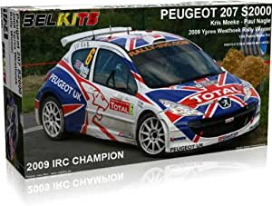 Belkits Peugeot 207 S2000 Rally Model Kit 1:24 001