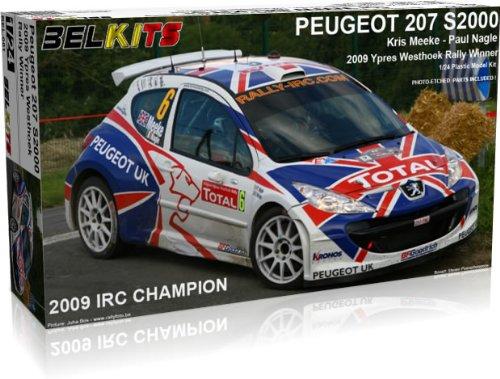 Belkit Model Kit - Peugeot 207 S2000 2009 IRC Car - 1:24 Scale - BEL001 - New (1 24 Scale Model Kits)