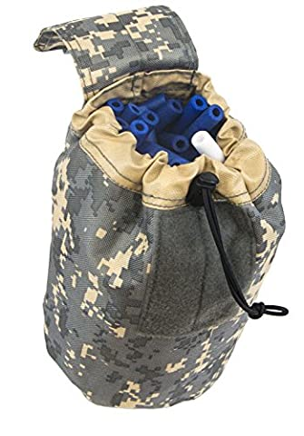 Blasterparts Drop Pouch for Nerf Darts and Clips (digital camo grey)