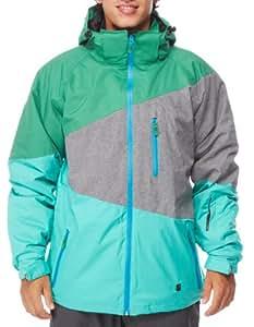 Light Snow Jacket Sieben Grey Heather/Billiard XL Multicolore - Amazon Grey Heather Billiard