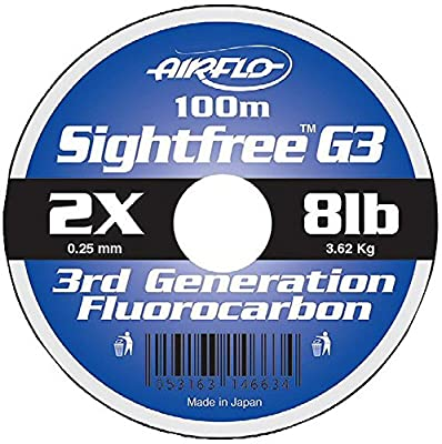 Airflo Sight-Free G3 Fluorocarbon 100 metres fishing line from Airflo
