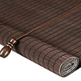 tonalità di bambù del Rullo con la Pista ed i montaggi - Il Blackout di filtraggio Leggero della Porta Frontale/del Patio Si blocca, Le Dimensioni Multiple Possono Essere Personalizzate