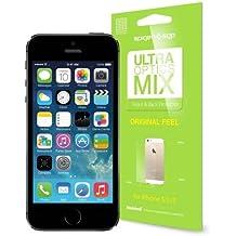 "Spigen Slim Armor S 4"" Funda Negro, Azul - fundas para teléfonos móviles (Funda, Apple, iPhone 5/5S, 10,2 cm (4""), Negro, Azul)"