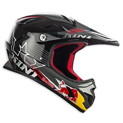 Kini Red Bull MTB - Cascos integrales - negro Contorno de la cabeza 58