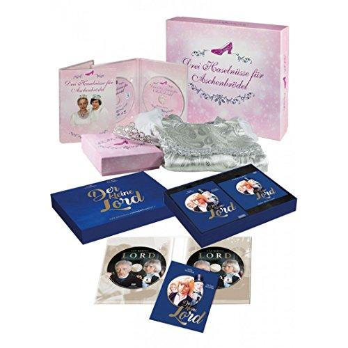 Der kleine Lord (Exklusiv-Edition) & Drei Haselnüsse für Aschenbrödel (Prinzessinnenbox/Kleidergröße 110/116)