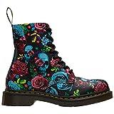 Dr.Martens 1460 Pascal Multi DM24427102 Damen High-Top Schuhe (37, Rose Fantasy Backhand Straw Grain)