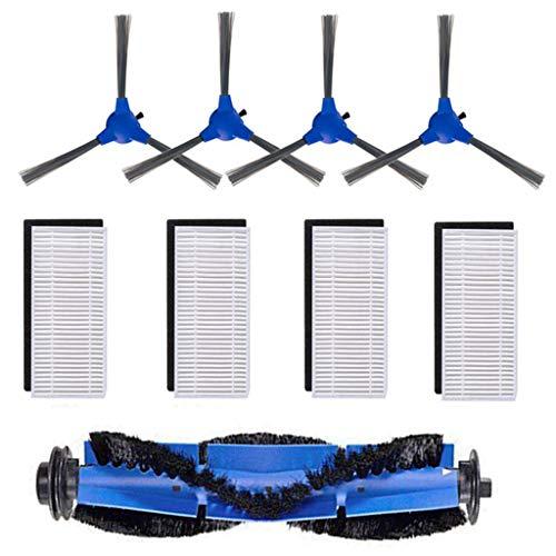 LCLrute Bürsten-Filter Seitenbürsten Zubehör für Eufy RoboVac Replacement Kit 11S Reinigungsroboter Staubsauger Ersatzteile
