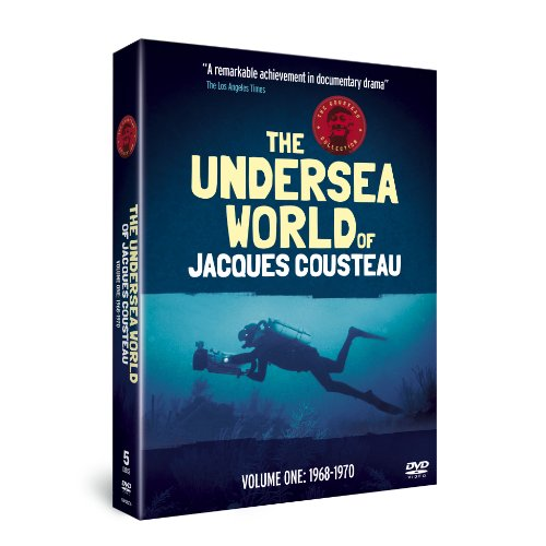 The Undersea World of Jacques Cousteau - Volume 1: 1968-1970 (5 DVDs)