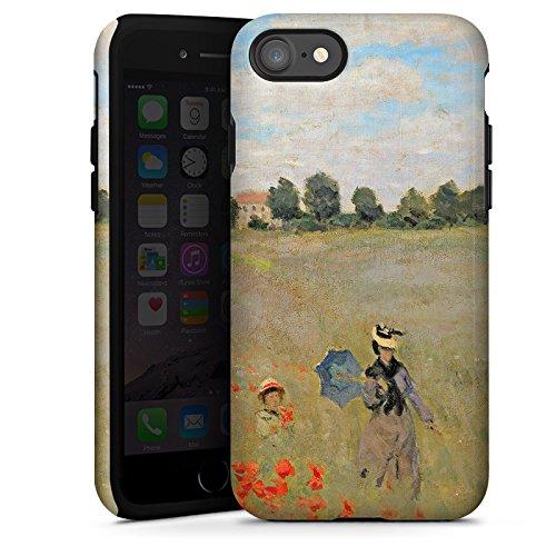 Apple iPhone X Silikon Hülle Case Schutzhülle Claude Monet Gemälde Kunst Tough Case glänzend