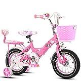 ZCRFY Vélo Garçons Filles Vélos Enfants avec Panier Bébé 2-10 Ans Bébé...