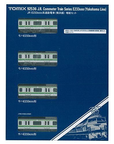 92536 banlieue base-6000 E233 forme jauge TOMIX N (Yokohama Line) hématopoïétique Set (4 voitures)