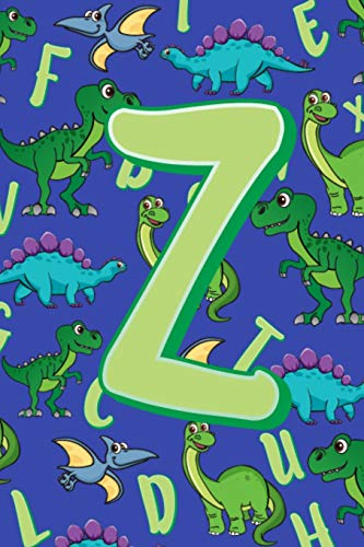 Z: Dinosaur Alphabet Practice Writing Book for Kids -