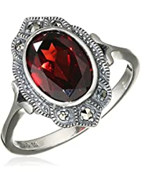 esse Damen Ring 925 Sterling Silber vintage-oxidized