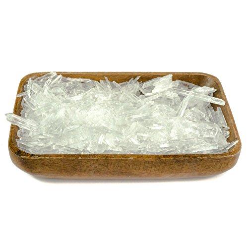 DIYer® - Mentholkristalle Saunakristalle - aus 100% reinem Minzöl - pharmazeutische Qualität für Sauna Aufgüsse - große Menthol Kristalle - 200g - 100% Reines Eukalyptus-minze