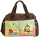 Fisher-Price Luv U Zoo Diaper Bag Brown