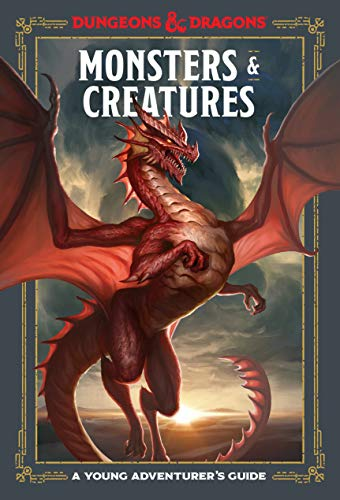 Monsters and Creatures: A Young Adventurer's Guide (Dungeons & Dragons Young Adventurer's Guides) (English Edition)