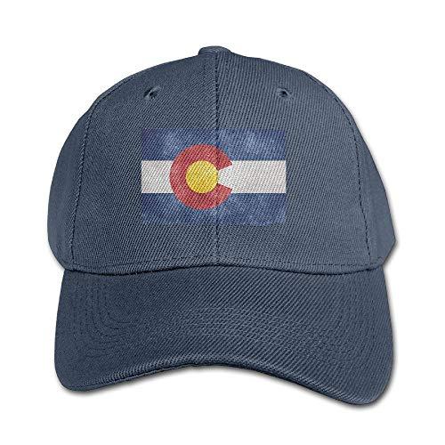 Colorado Flag State Vintage Design Geschenk Hysteresenhut Style Navy für Jungen und Mädchen Jugend Unisex
