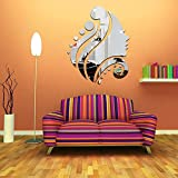 Best Decals for the Wall Mirrors - Wall Sticker LAPOPNUT Beauty Beautiful Girl Head Modern Review