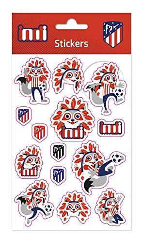 Grupo Erik Editores ESS003 - Set pegatinas Atlético De Madrid, 11 x 20 cm