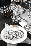 5 Platz-Karten / Tisch-Karten / Namens-Kärtchen Filmklappen Motto-Party Hollywood / Themen-Party Movie Film Kino - 5 Stück / Party-Deko / Geburtstags-Feier / Geburtstags-Deko / Tisch-Ordnung - 2
