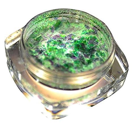 Charming Nail Cloud Powder Glitter Aluminum Flakes Magic Mirror Effect