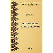 Dictionnaire kabyle-français : Parler des At Mangellat, Algérie