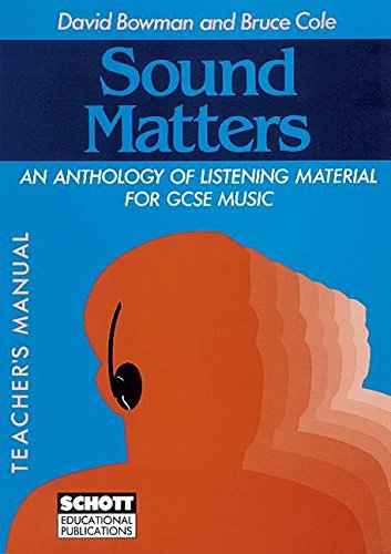 sound-matters-tchrs-anthology-of-listening-material-for-general-certificate-of-secondary-education-m