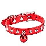 Pasabideak Beliebtes Pet Halsband Katze Hund Halsband Kaninchen Patch Bell Halsband Farbe Schnalle