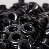 BIG-SAM - Ösen mit Scheiben - 4/5/8/11 oder 14mm in Brüniert (5mm)