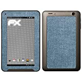 atFolix Medion LIFETAB E7312 (MD98488) Skin FX-Denim-Blue Designfolie Sticker - Jeans-Stoff Optik