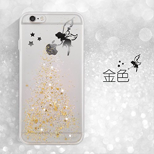 iPhone 7 Plus Hülle,iPhone 7 Plus Case Cover,Sunroyal iPhone 7 Plus Transparent Sparklers Hülle TPU Case Schutzhülle Silikon Crystal Case Durchsichtig,Silber Glänzend Glitzer Kristall Luxus Bling Star Pattern 14