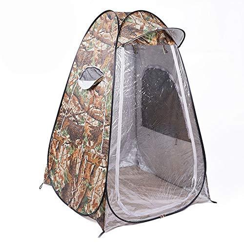 Syonging Tarnung tragbare Privatsphäre Dusche Toilette Camping Pop Up Zelt Fotografie Zelt bewegliche Outdoor-Winter-Fischerzelt mit Kappe