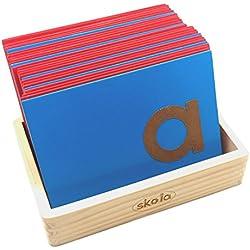 Skola Toys Sandpaper Letters Tracing Lower Case Print Alphabets