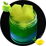 #6: Fancyku Jelly Cube Slime Sponge Slime Stress Relief Toy Scented Sludge Toys (Green)