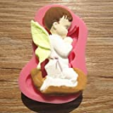 1 pc Prayed Boy Angel Silicone Fondant Cake Mold Soap Chocolate Mould Amazon deals