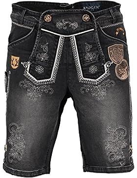 Krüger Buam Textilshort Jeans Wildling anthrazit