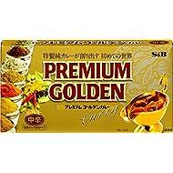 S&B Premium Golden Curry Medium Spicy 160 g × 3 Japan