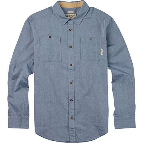 Burton Herren Glade Long Sleeve Shirt Medium Light Chambray (Chambray-taste)